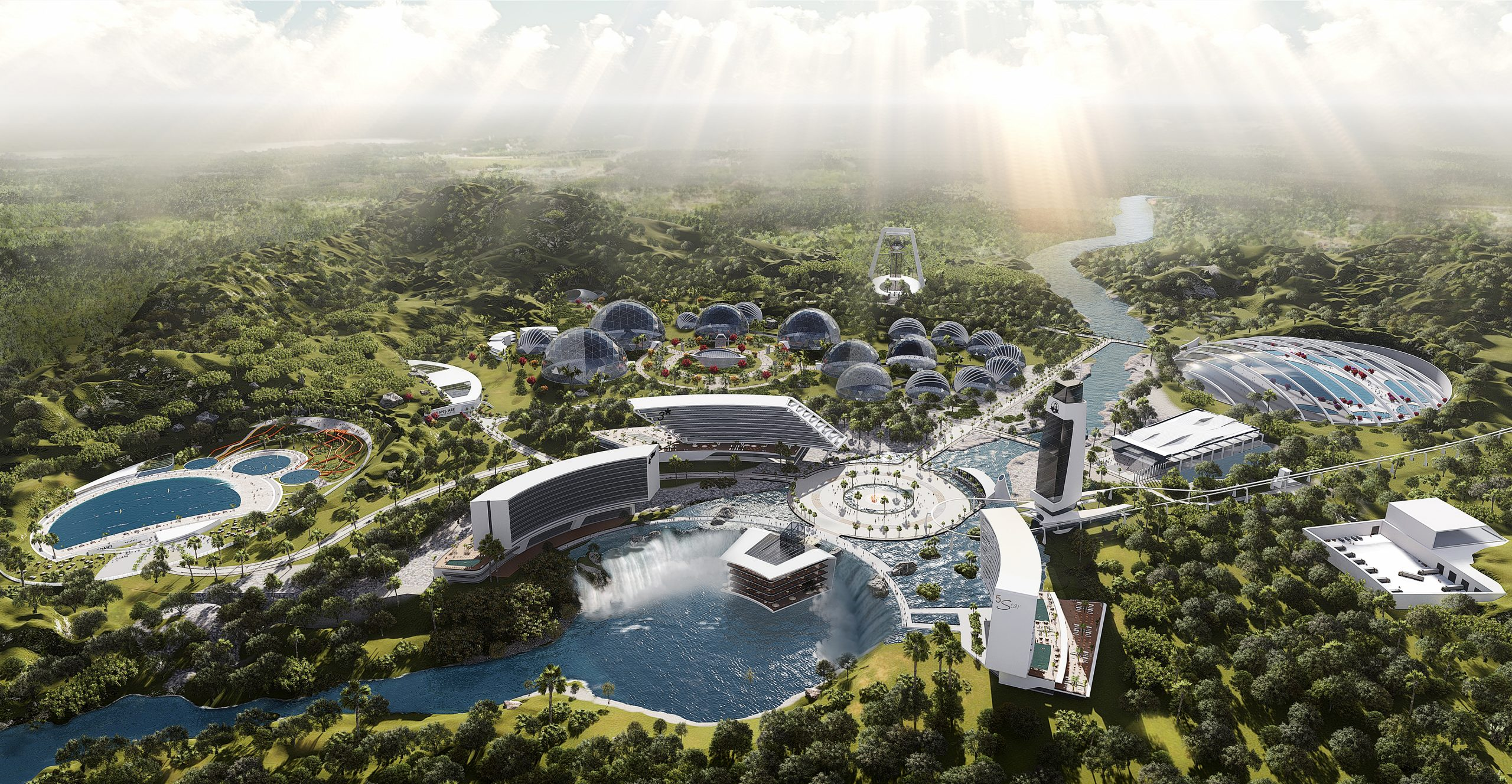 Noah\'s Ark - State-of-the-art animal and ecological conservation park To Be Built To Protect The World's Animals Press Office